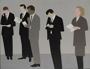 Secretaries by Gavin Hurley contemporary artwork