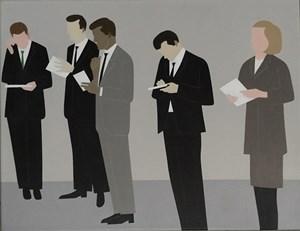 Secretaries by Gavin Hurley contemporary artwork