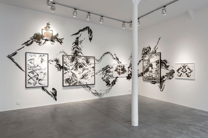 Exhibition view: Group Exhibition, From the Paper to the Wall, Templon, Brussels (6 June–26 July 2019). Courtesy Galerie Templon, Paris - Bruxelles. Photo: Isabelle Artuis.