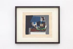 Bouteille et raisins by Pablo Picasso contemporary artwork