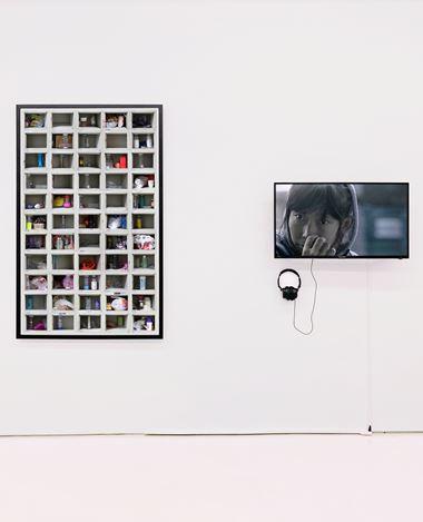 Exhibition view: Group Exhibition, Alienation?, Eli Klein Gallery, New York (14 November 2020–18 February 2021). Courtesy Eli Klein Gallery.