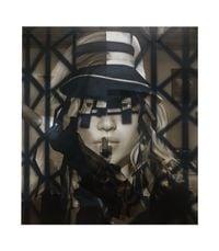Assassin (Bird bar) by Avery Singer contemporary artwork painting