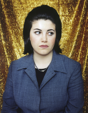 Monica Lewinsky by Polly Borland contemporary artwork