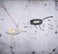Fried Egg by Honggoo Kang contemporary artwork photography