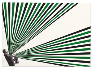 Albert by Rico Gatson contemporary artwork