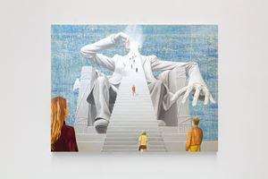 Lincoln/Moloch by Jim Shaw contemporary artwork