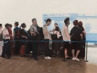 A Theater of Waiting by Xie Nanxing contemporary artwork painting