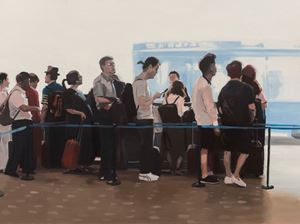 A Theater of Waiting by Xie Nanxing contemporary artwork