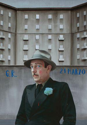 '21 Marzo' _G.R. Grazia Ricevuta_Ex Voto by Paolo Ventura contemporary artwork