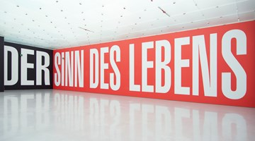 Contemporary art exhibition, Barbara Kruger, FOREVER at Sprüth Magers, Berlin