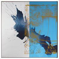 Luxer (Urban Bourbon) by Robert Rauschenberg contemporary artwork mixed media