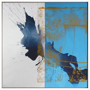Luxer (Urban Bourbon) by Robert Rauschenberg contemporary artwork