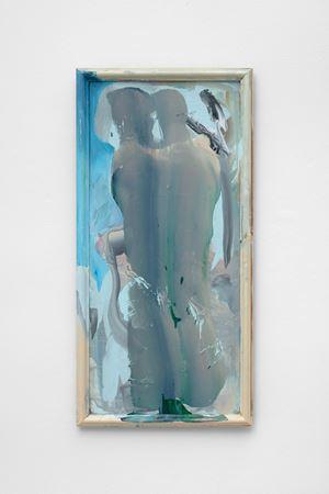 Lovers and monkeys by Katy Moran contemporary artwork