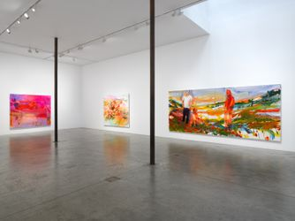 Contemporary art exhibition, Doron Langberg, Give Me Love at Victoria Miro, Wharf Road, London, United Kingdom