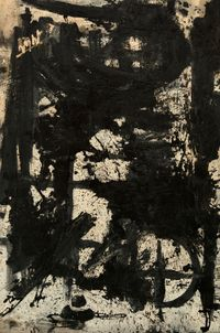 Invisible Numbers by Michael (Corinne) West contemporary artwork painting
