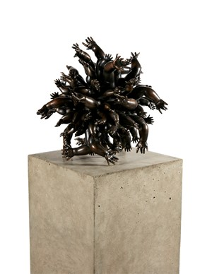 to feel by Del Kathryn Barton contemporary artwork