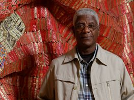 'El Anatsui: Five Decades' at Carriageworks, Sydney