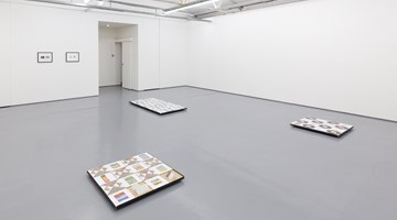 Contemporary art exhibition, Michael Queenland, Project at Maureen Paley, London