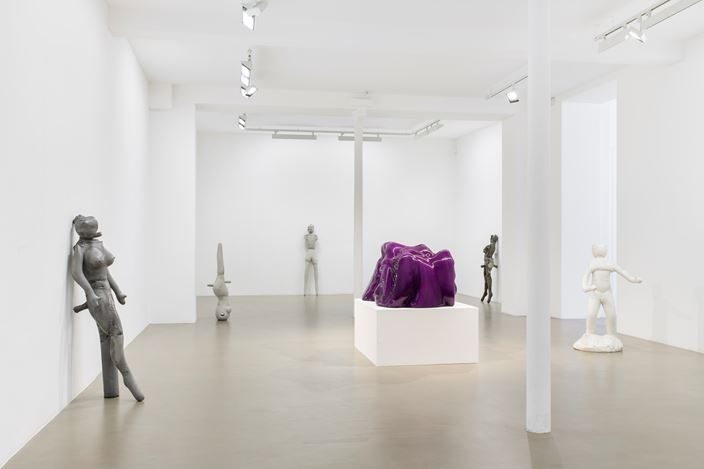 Exhibition view: Jean-Luc Moulène, Implicites & Objets, Galerie Chantal Crousel, Paris (22 October–28 November 2020). Courtesy the artist and Galerie Chantal Crousel, Paris. Photo: Martin Argyroglo.