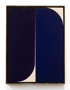 Dark Blue #6 by Johnny Abrahams contemporary artwork