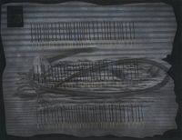Recitation 5 — A hundred lights by Abul Hisham contemporary artwork works on paper