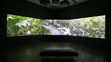 Contemporary art exhibition, Wang Tuo, Empty-handed into History at UCCA, UCCA Beijing, China