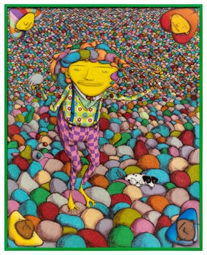 It is never enough by OSGEMEOS contemporary artwork
