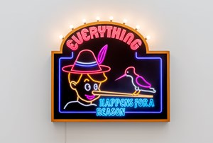 Everything happens for a reason by Tobias Rehberger contemporary artwork