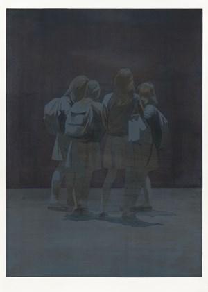 White Skirts (Amerikanische Nacht) by Tim Eitel contemporary artwork