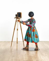 Planets in my Head, Young Photographer by Yinka Shonibare CBE (RA) contemporary artwork sculpture