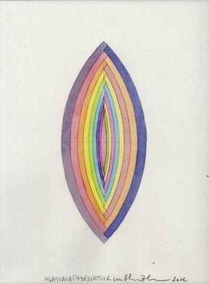 Bracketed Flower 《花括》 by Inga Svala Thórsdóttir & Wu Shanzhuan contemporary artwork painting, works on paper