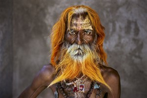 Rabari tribal elder, Rajasthan, India by Steve McCurry contemporary artwork