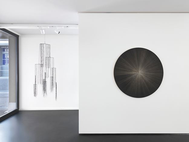 Exhibition view: Group Exhibition, Back to the Roots: Campbell, Gjerdevik, Grabner, Anne Mosseri-Marlio Gallery, Basel (4 September–16 October 2020). Courtesy Anne Mosseri-Marlio Gallery.