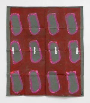 2020 197 by Claude Viallat contemporary artwork