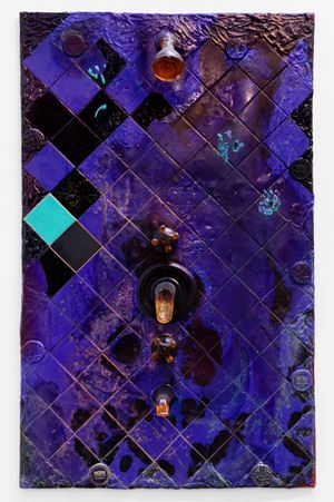UNIT 3D [SPEICK] by KAYA (Kerstin Brätsch & Debo Eilers) contemporary artwork painting