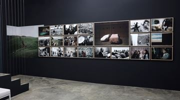 Contemporary art exhibition, Simon Chang, Shepherds and the Slaughterhouse at Galerija Fotografija, Ljubljana