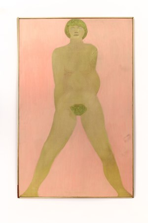 Standing Nude by March Avery contemporary artwork