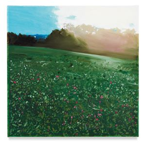 Hillside by Isca Greenfield-Sanders contemporary artwork