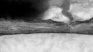 Mountainpass by Dominique Teufen contemporary artwork