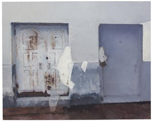 Two Doors by Zhang Litao contemporary artwork