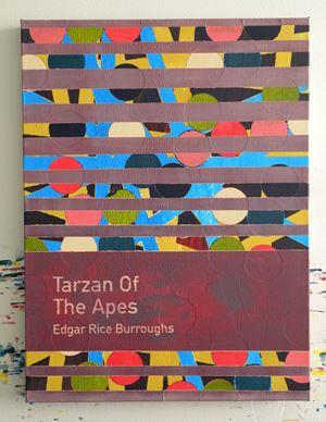 Tarzan of the Apes / Edgar Rice Burroughs by Heman Chong contemporary artwork