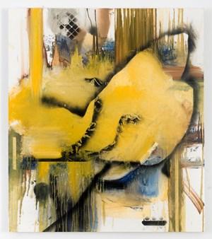 Look Return Look Between Wing and Fence by Elizabeth Neel contemporary artwork