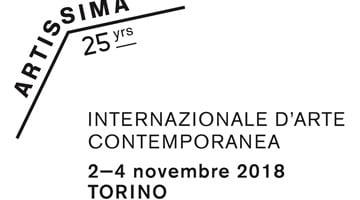 Contemporary art art fair, Artissima 2018 at Galerie Thomas Schulte, Berlin, Germany
