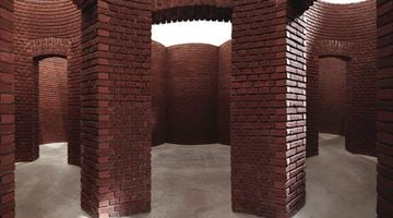 Contemporary art exhibition, Per Kirkeby, Brick Sculptures at Axel Vervoordt Gallery, Antwerp