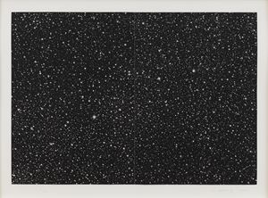 Starfield by Vija Celmins contemporary artwork