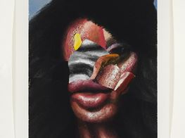 THE PSYCHIC HEFT OF NATHANIEL MARY QUINN'S DISFIGURED PORTRAITS