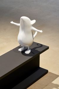Pou Sto (detail) by Seung Yul Oh contemporary artwork sculpture
