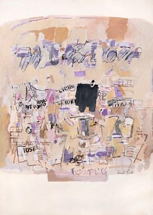 Sans titre (diptych) by Sarah Grilo contemporary artwork