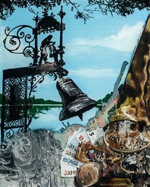 Die Uhr hat zwölf geschlagen by Wolf Hamm contemporary artwork
