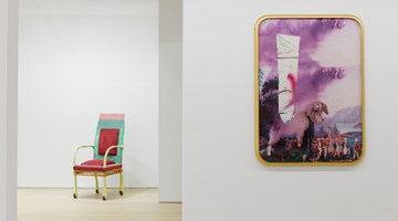 Contemporary art exhibition, Julian Schnabel, Re-Reading at Almine Rech, New York